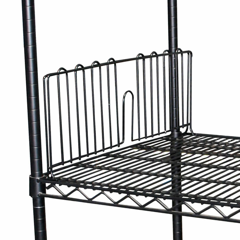 Epoxy Wire Coolroom Shelving Divider, 457mm long