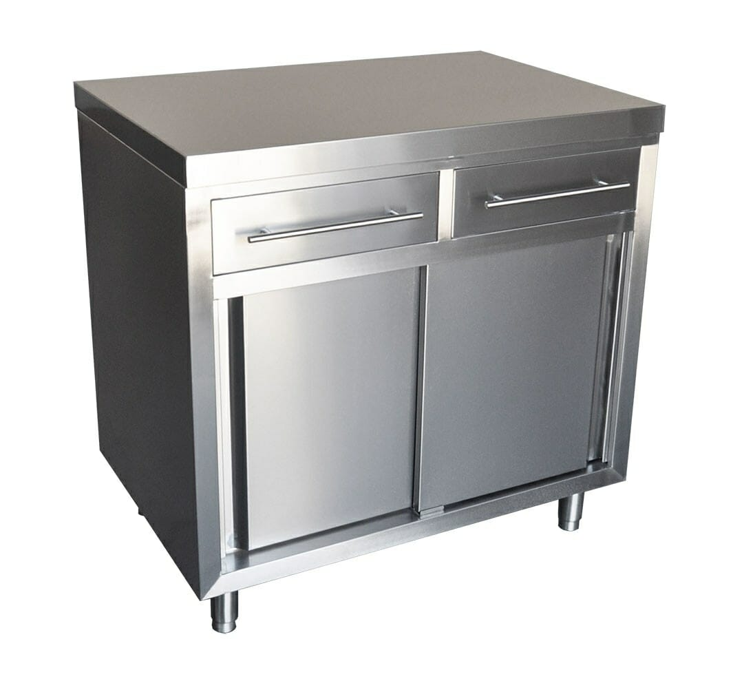 Stainless Cabinet, 900 x 610 x 900mm high.