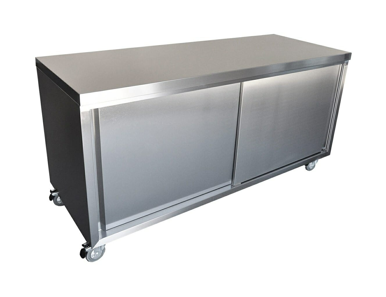 Stainless Steel Commercial Cabinet, 1200 x 700 x 900mm high.