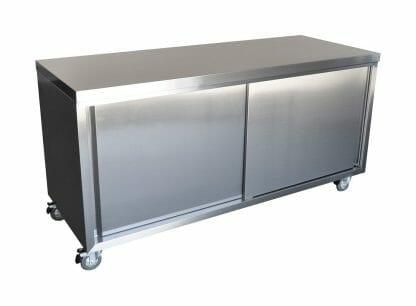 Stainless Steel Restaurant Cabinet, 1800 x 700 x 900mm high.
