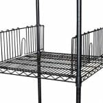 Epoxy Wire Shelving Divider, 610mm long-0