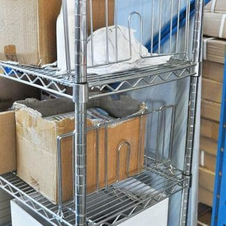 Chrome Wire Shelving Divider, 457mm long-0