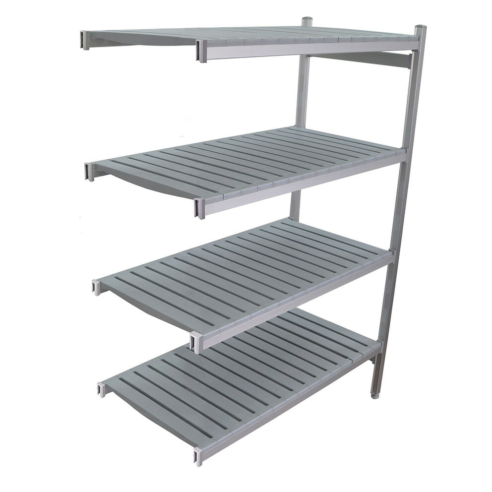 Extra bay for 1225 x 610 deep x 2450mm high Premium Coolroom Shelving