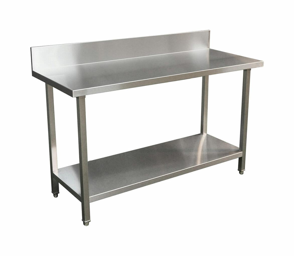 Premium Stainless Steel Splashback Bench (1500 X 610)-0