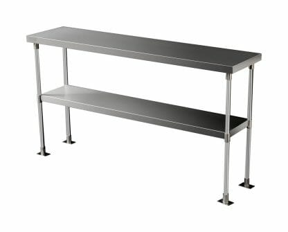 Stainless 2-Tier Over Shelf, 1450 X 350mm-0