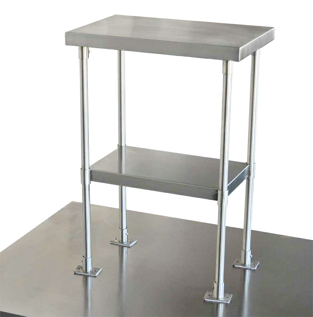 2-Tier Over Shelves for Commercial Kitchens, 550 x 350mm-0
