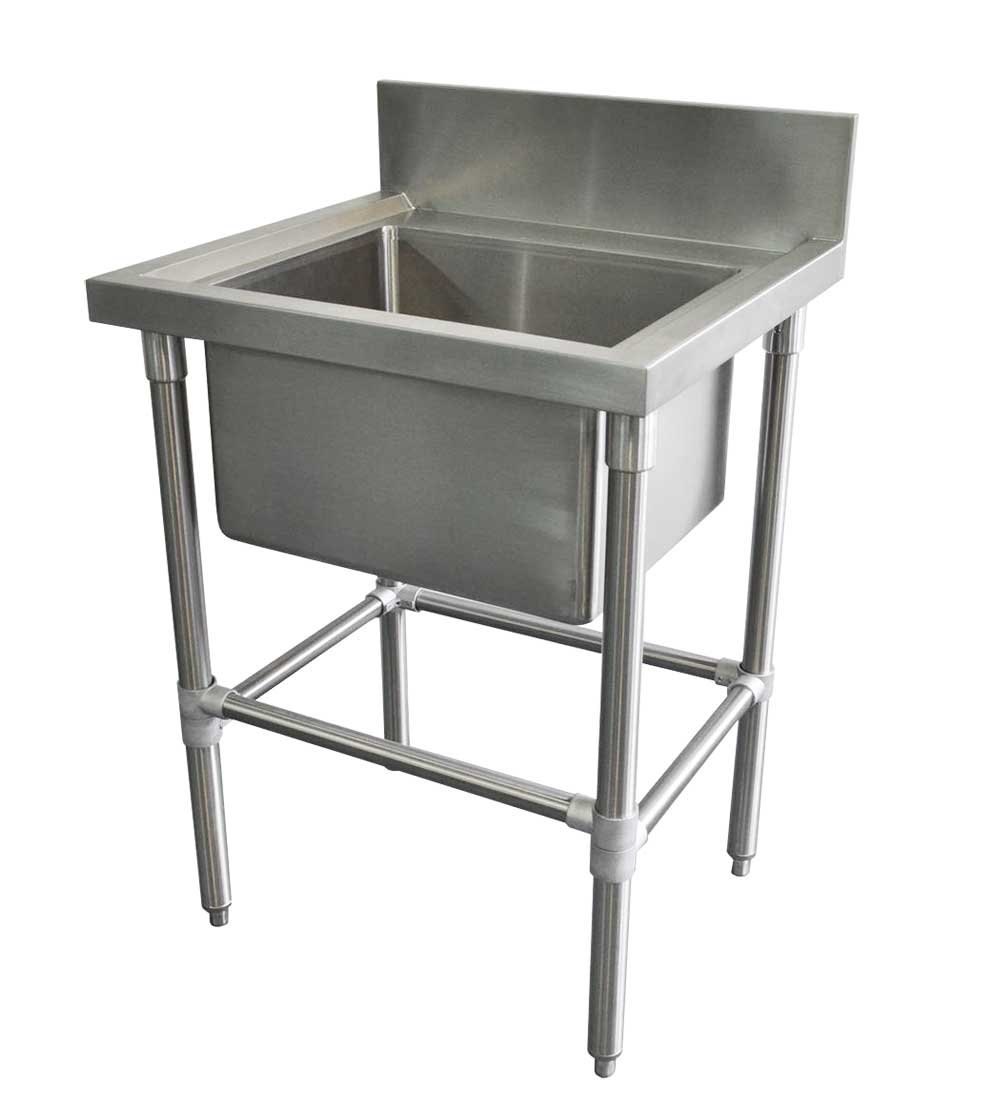 Stainless Catering Sink, 665 x 610 x 900mm high