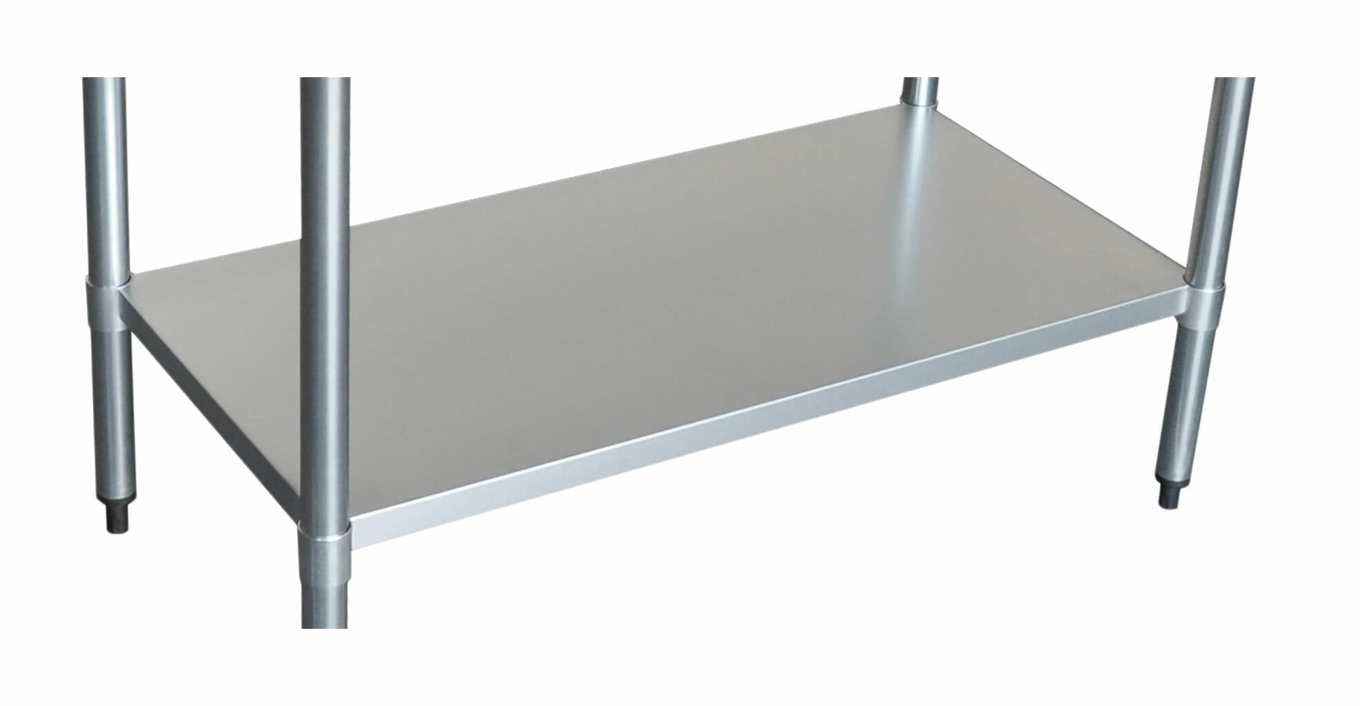 Stainless Undershelf for 3096 Bench