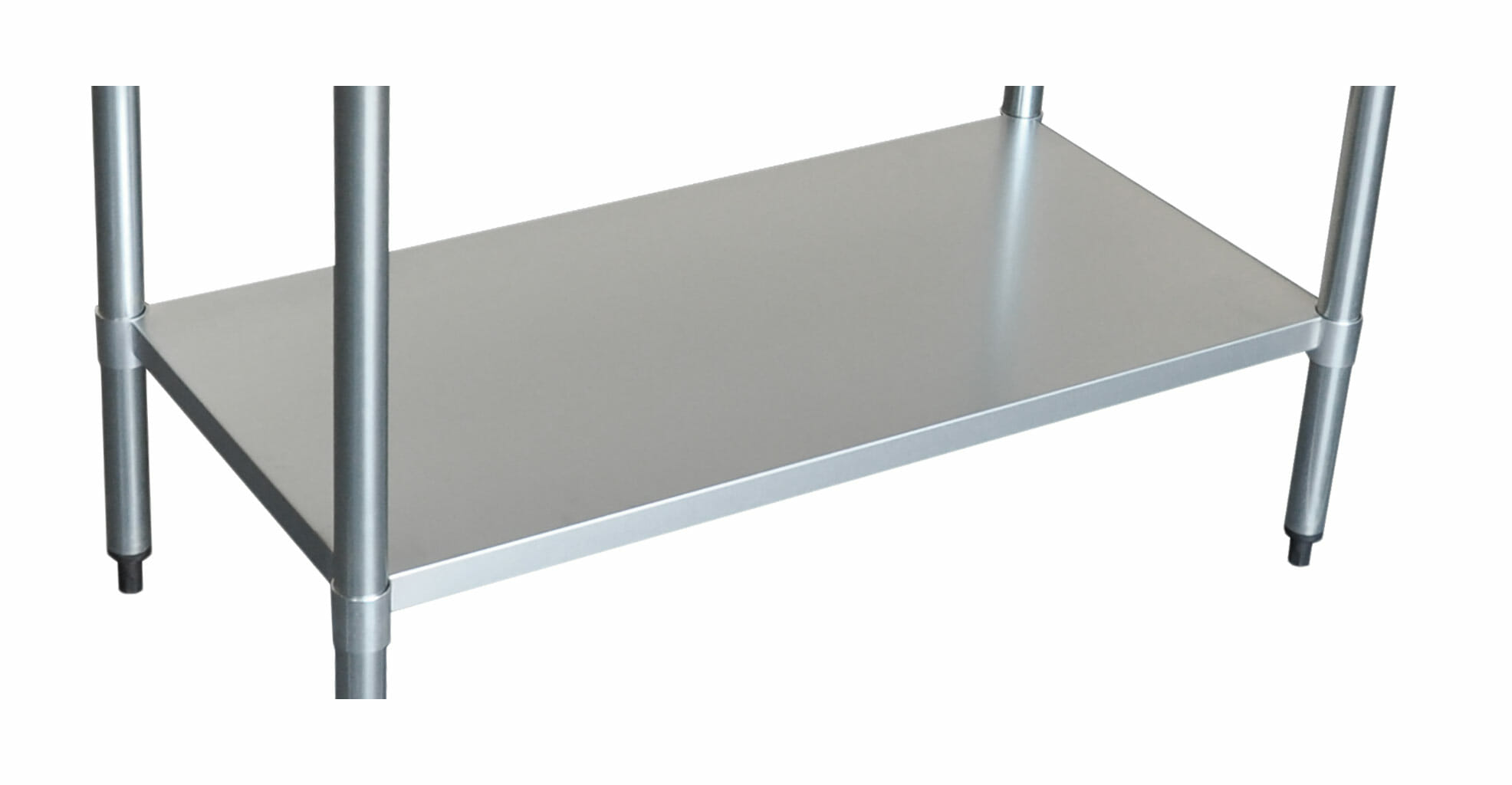 Stainless Undershelf for 2424 Bench