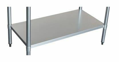 Stainless Undershelf for 1830 Bench-0