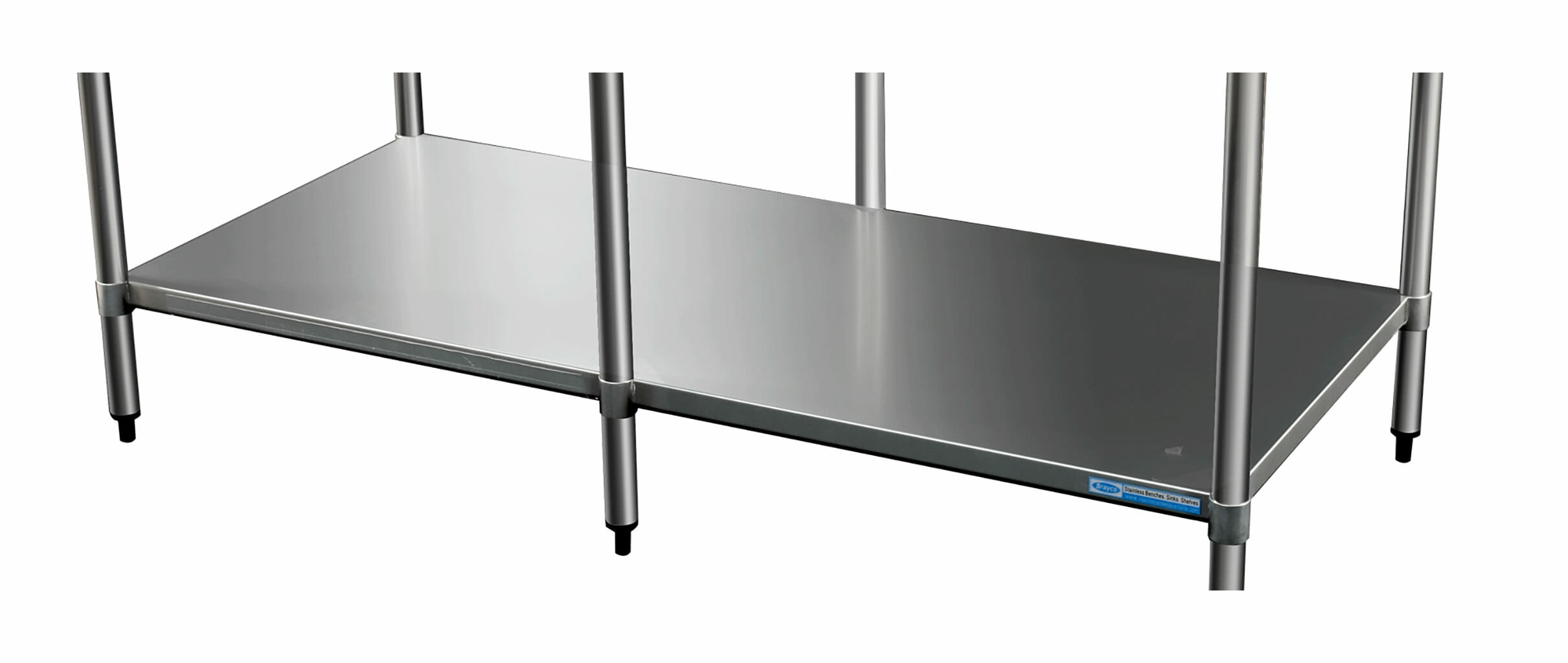 Stainless Undershelf for 3684 Bench