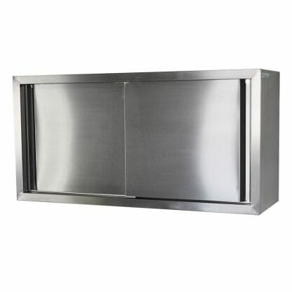 Stainless Wall Cabinet, 900 x 380 x 600mm high.