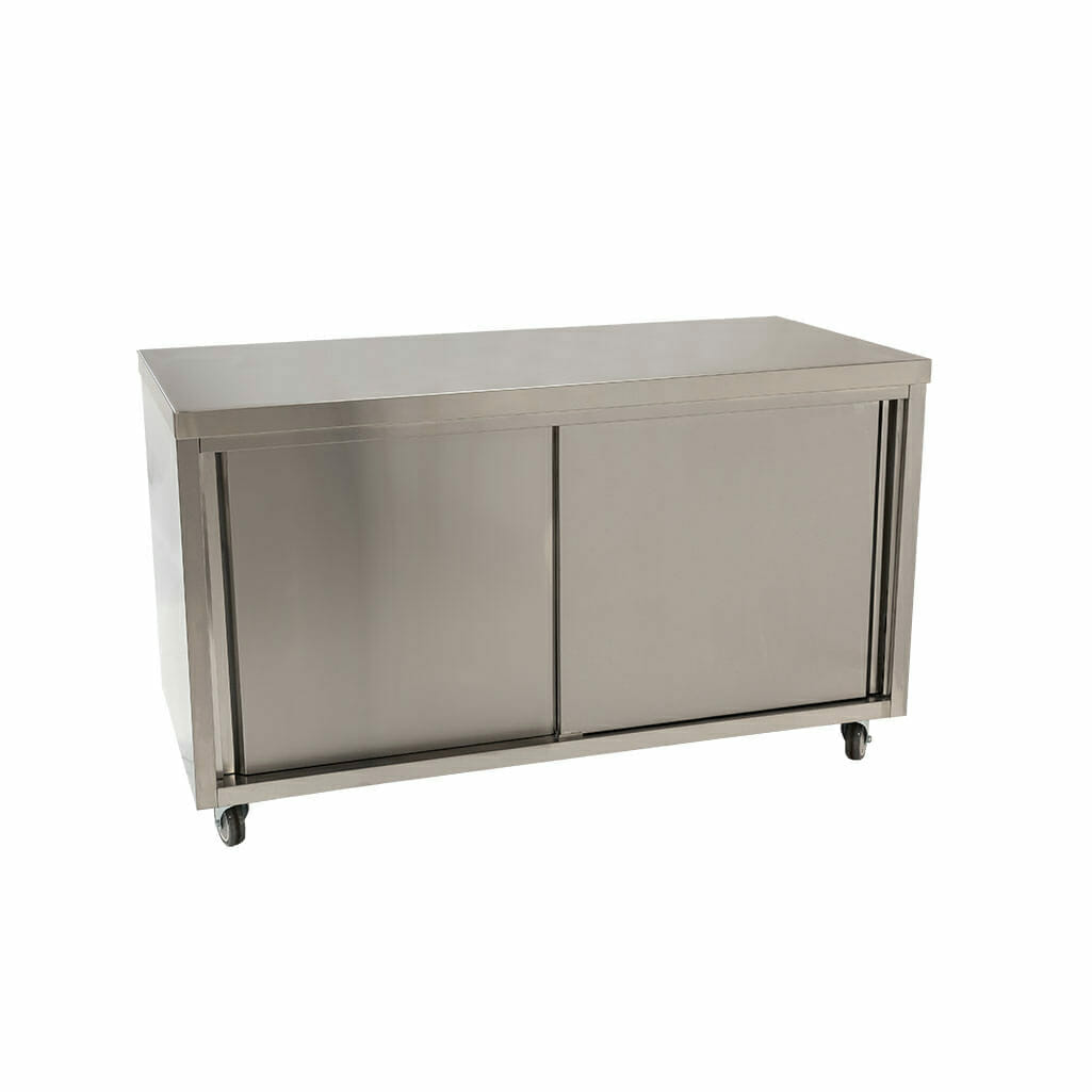 Stainless Steel Cabinet, 1500 x 700 x 900mm high