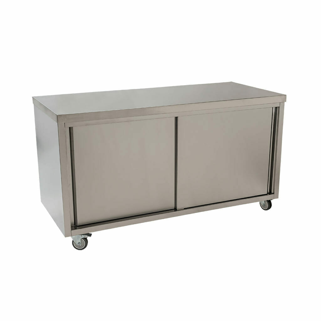 Stainless Cabinet, 1600 x 700 x 900mm high