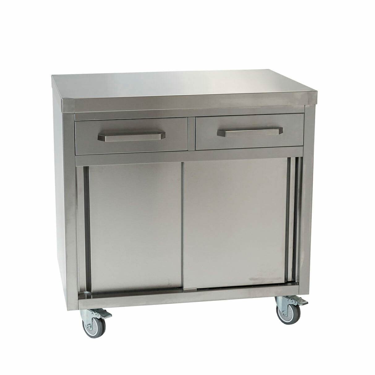 Stainless Cabinet, 900 x 610 x 900mm high