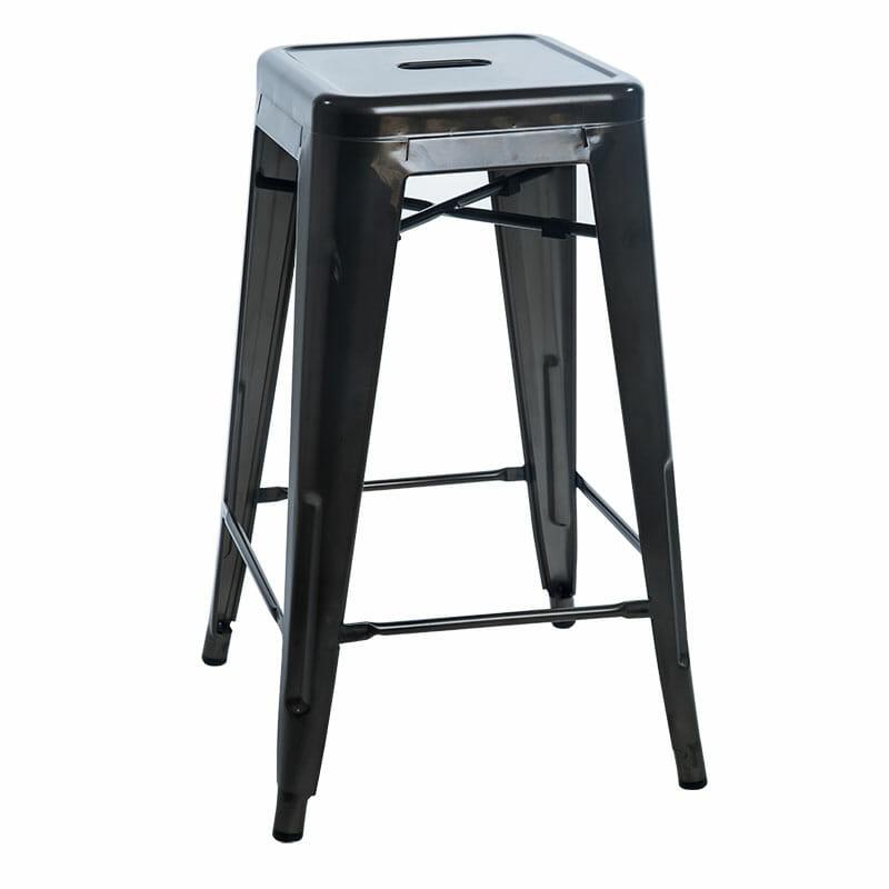Replica Tolix Counter Stool – Rust