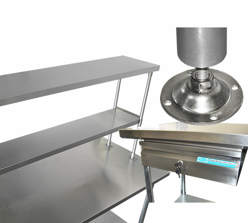 cheap stainless steel benches