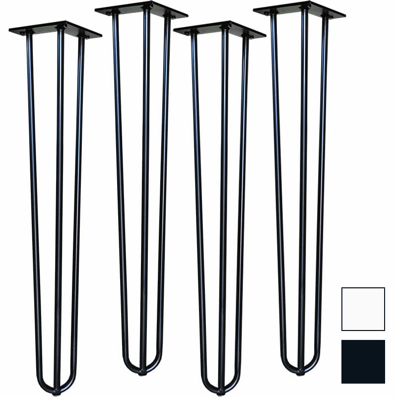 Hairpin Table Legs – Set of 4