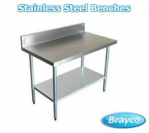 best stainless steel benches