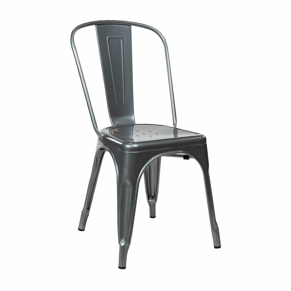 Replica Tolix Dining Chair – Silver