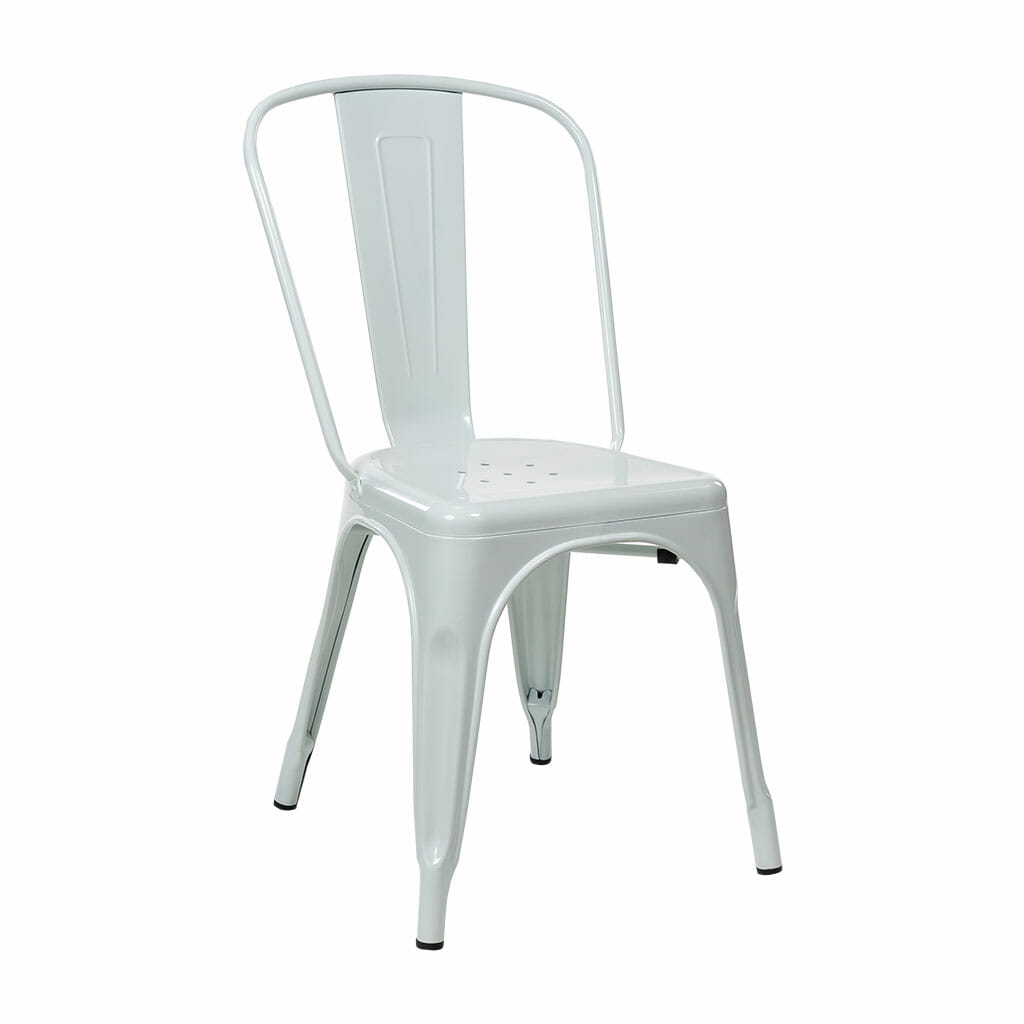 Replica Tolix Dining Chair – White